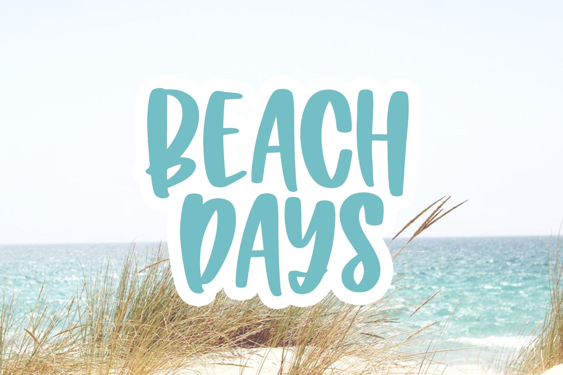 Island Cabana - A Fun Handwritten Font example image 5