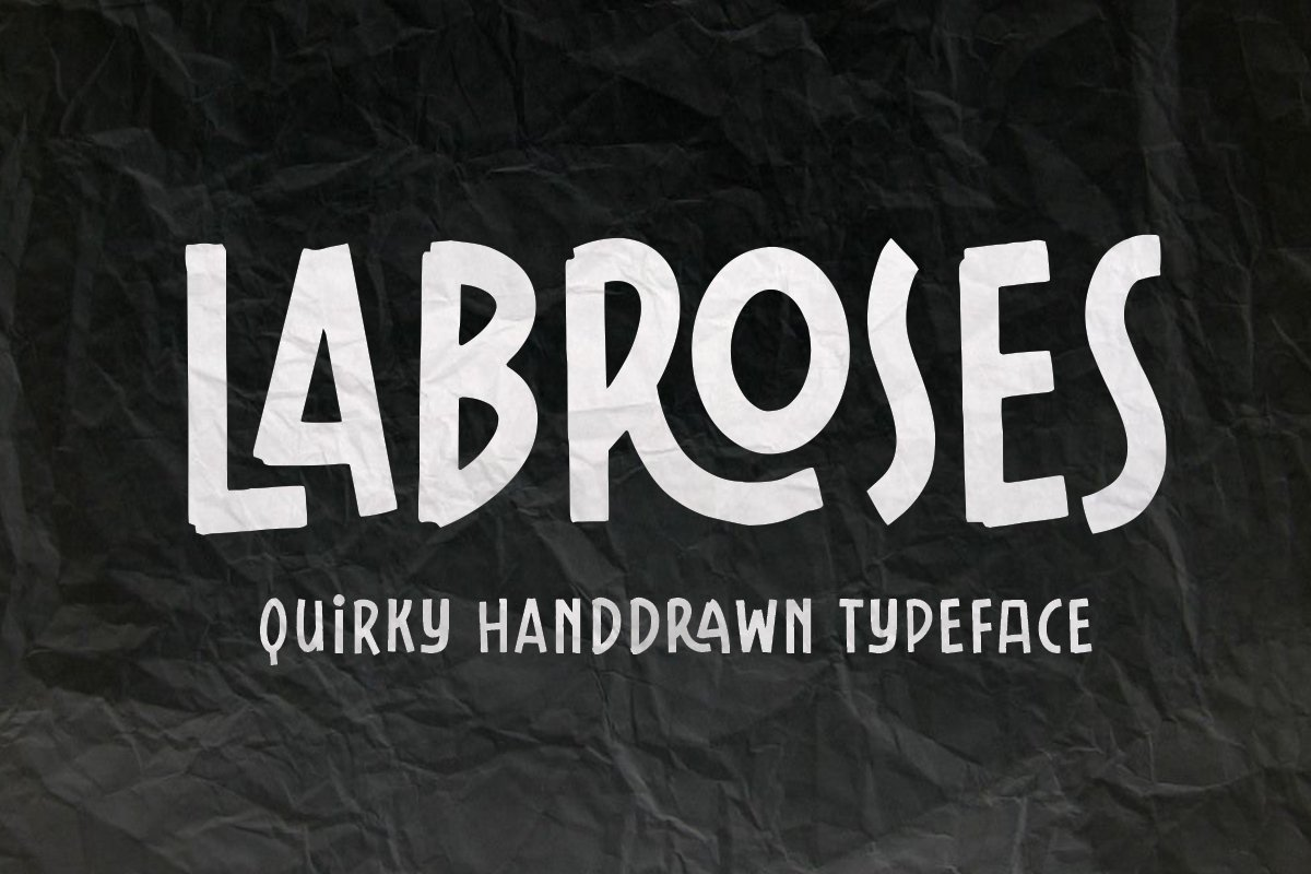 Labroses Quirky Typeface example image 8