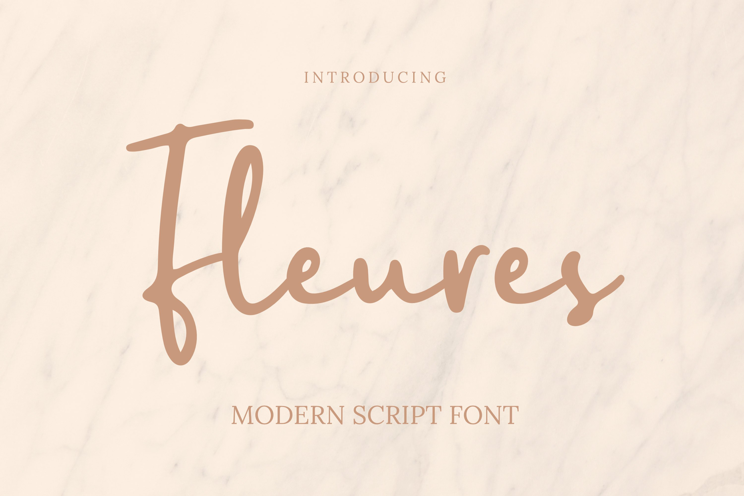 Fleures Font example image 1