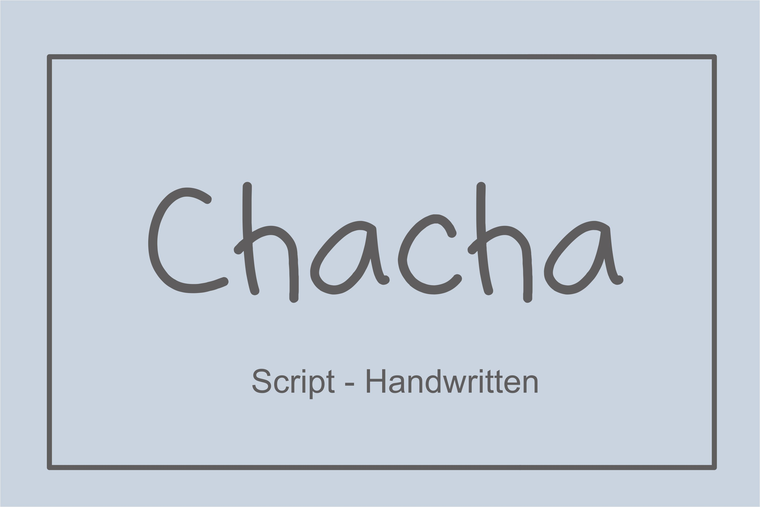 Chaca example image 1
