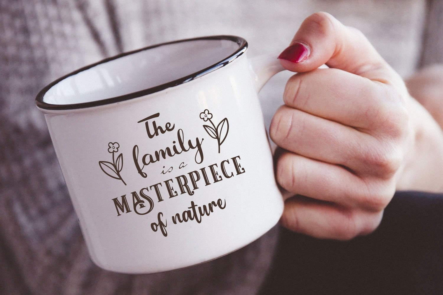 The family is a masterpiece of nature svg Family Quote example image 2
