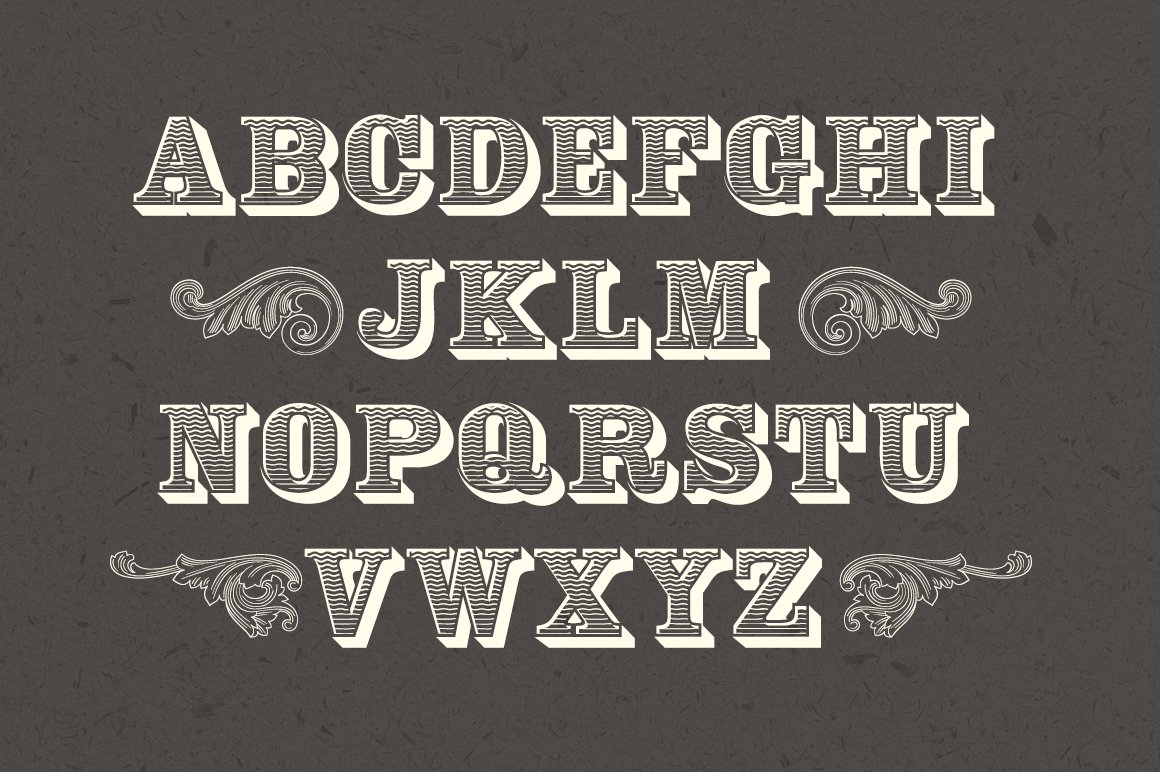 Engraver Font example image 3