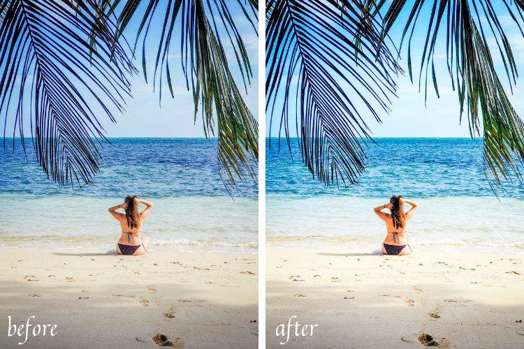 Ocean Life Mobile & Desktop Lightroom Presets example image 11