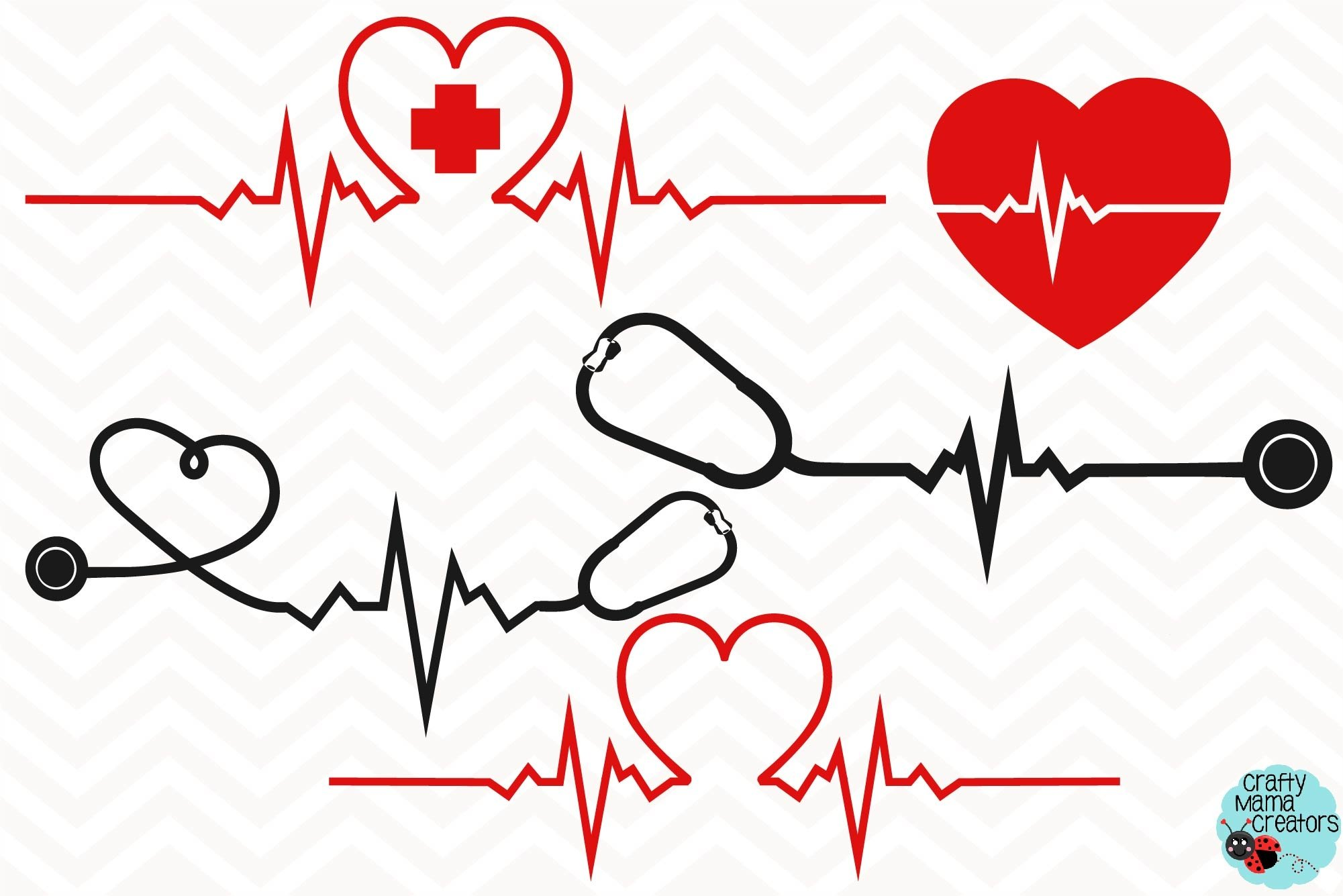 Heartbeat Svg, Heart Beat Svg, Heartbeat Clipart, Pulse Svg example image 1