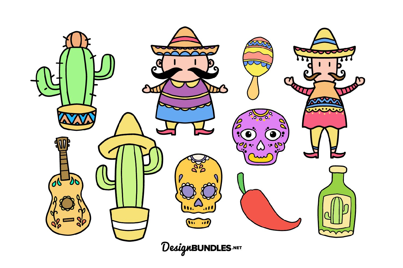 Cinco De Mayo illustrations example image 1