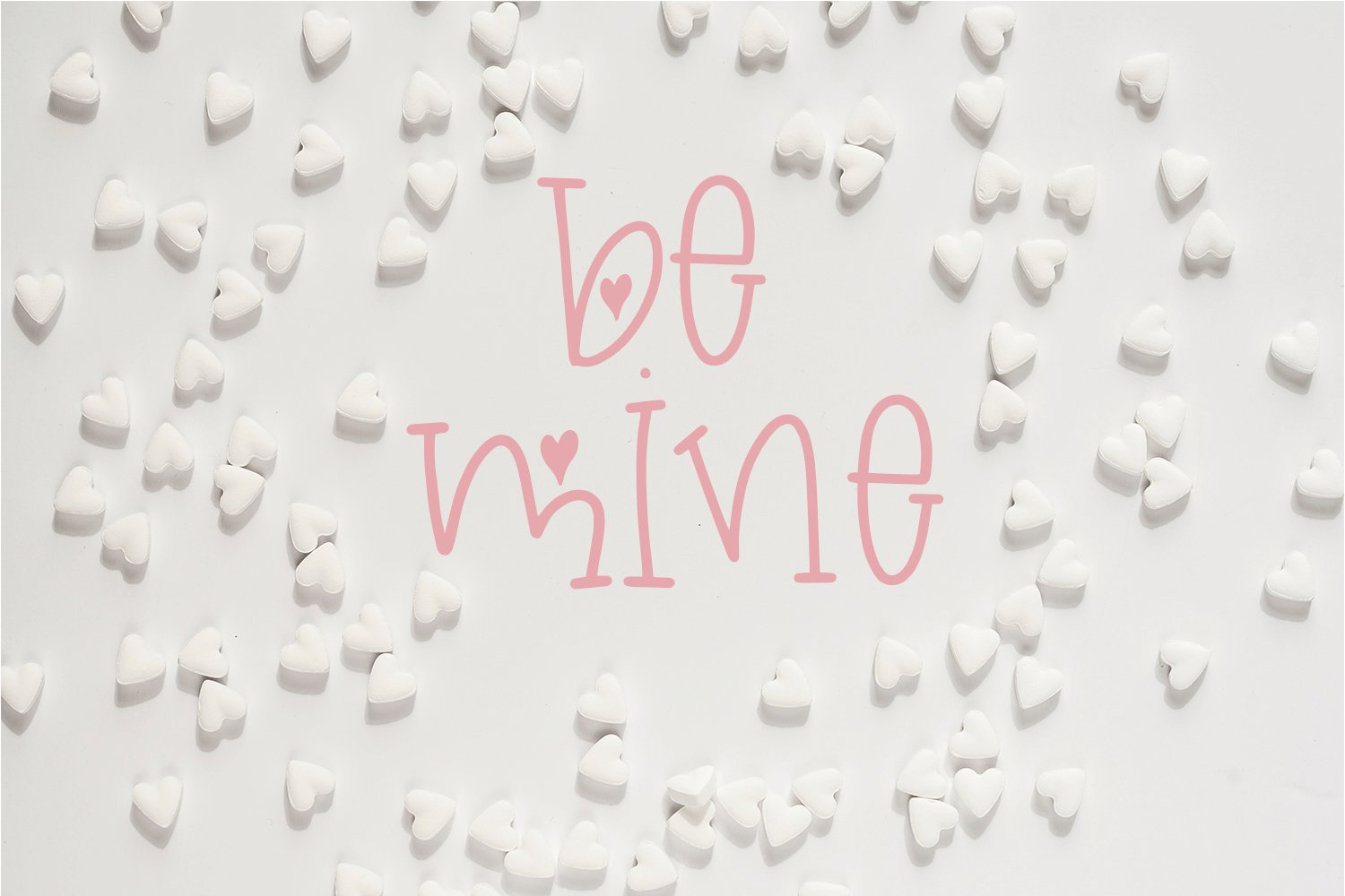 Valentine's Day Font - Miss Valentina example image 5