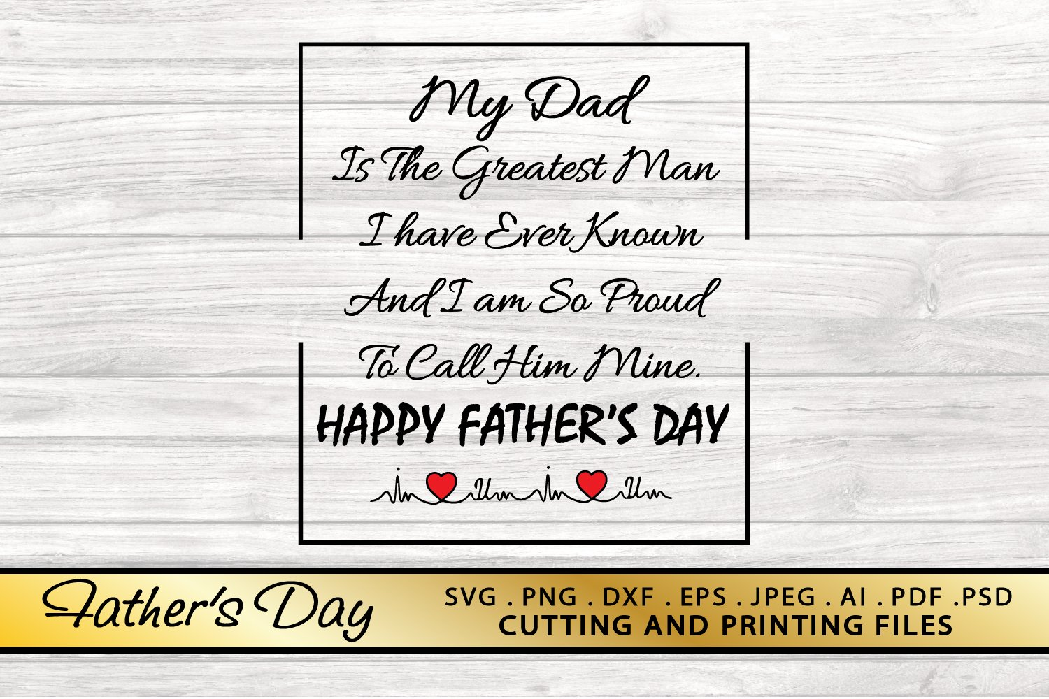Fathers Day SVG PNG DXF EPS Dad Quote SVG Dad Saying SVG example image 1