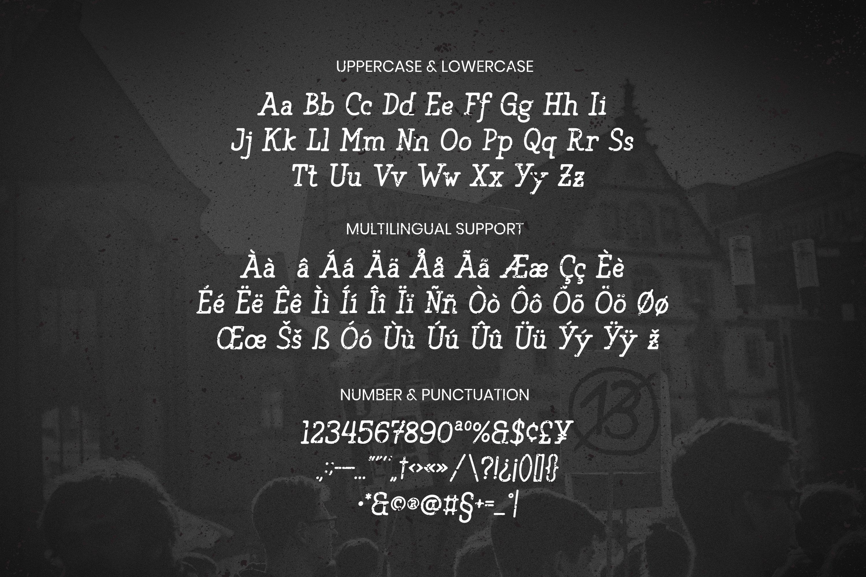 Yolk Slab Font example image 5