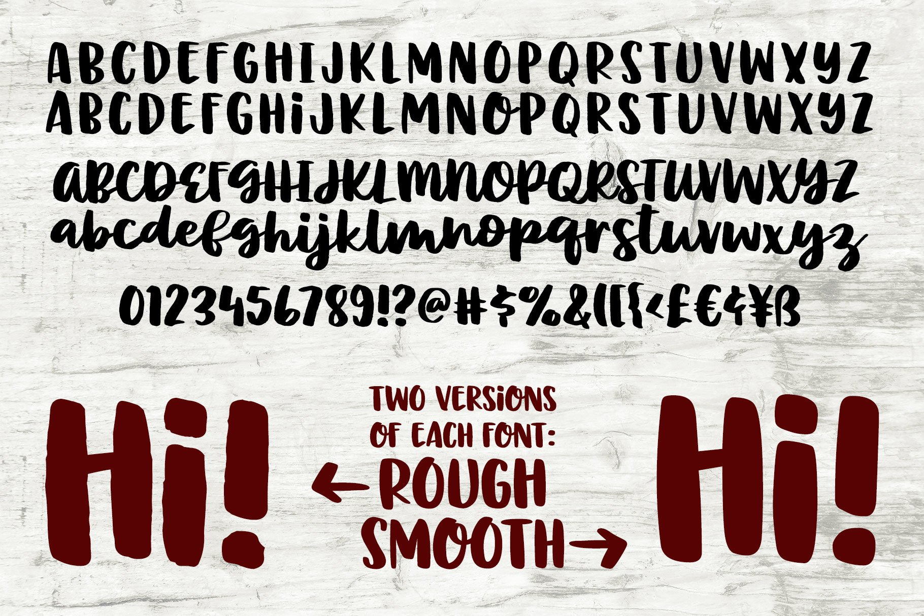 The Newbie Crafter Font Bundle - 8 fun & smooth families! example image 15