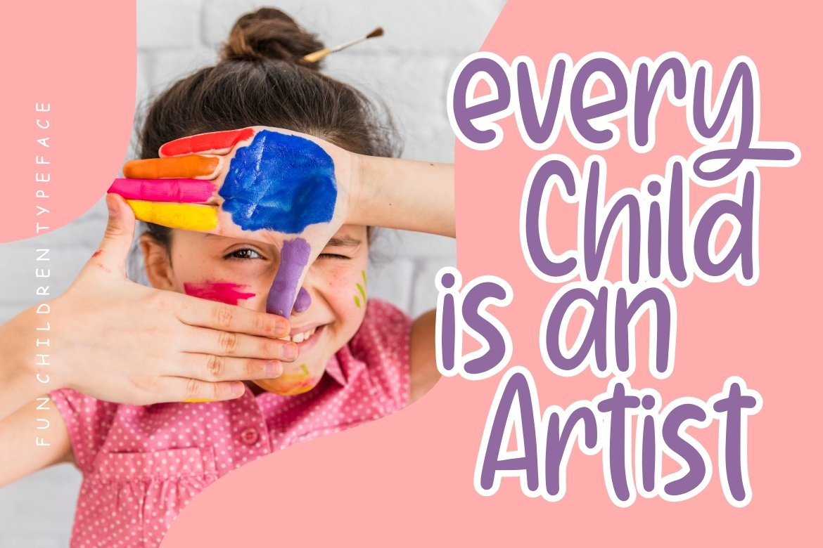 Searghy Fun Children Typeface example image 5