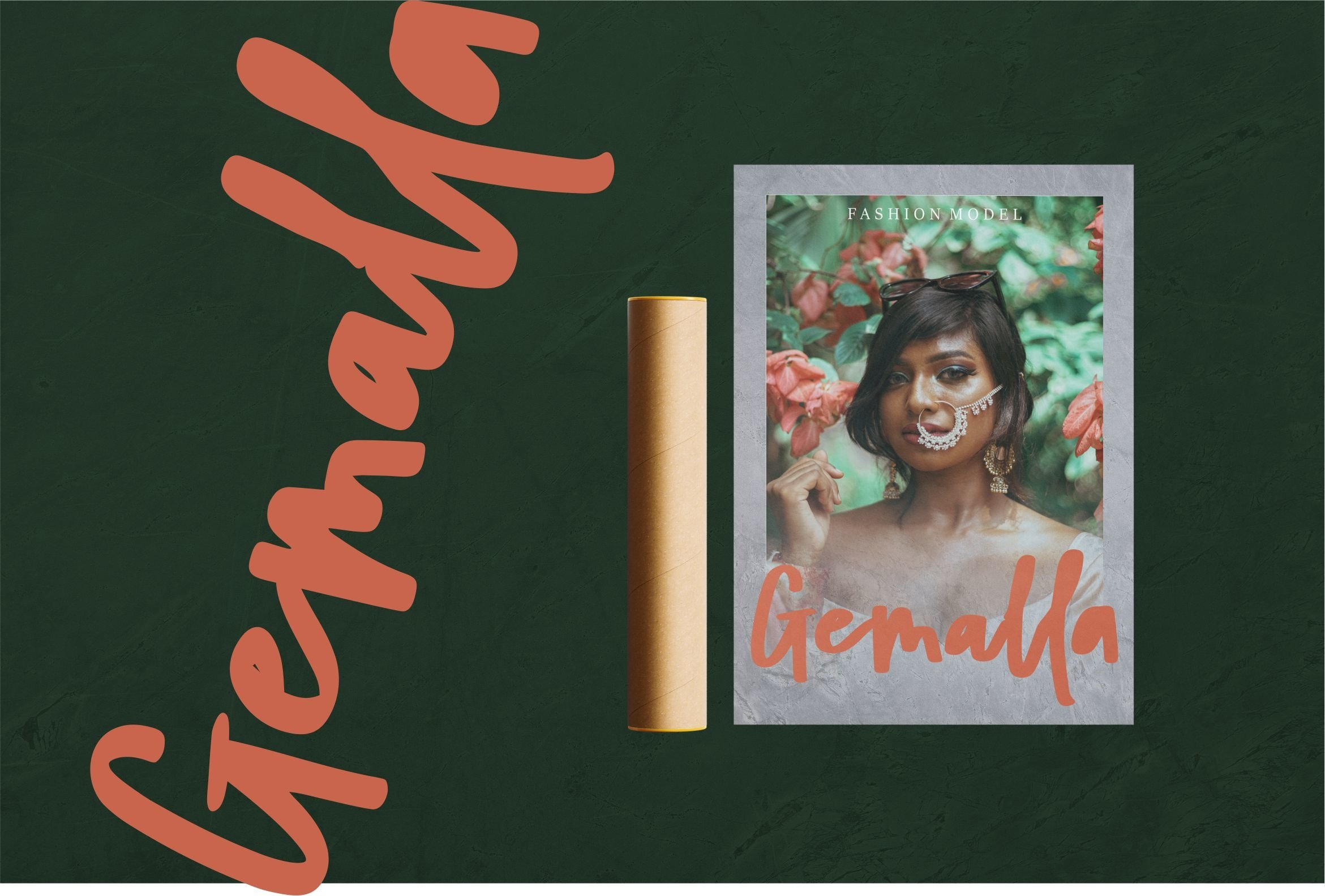 Mathaniel - Bold Beauty Script Font example image 4