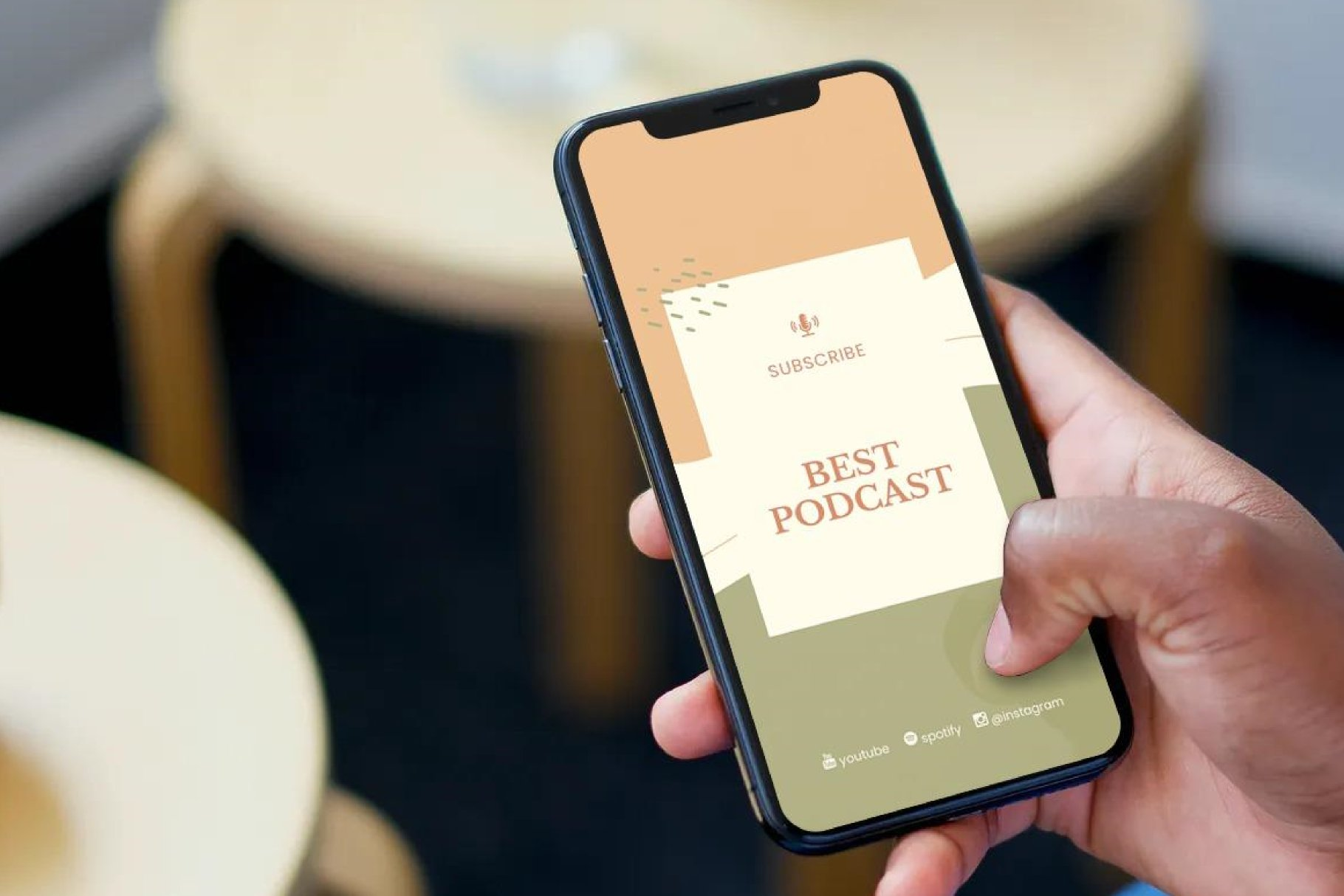 Podcast Instagram Stories and Post - Creativity Podcaster example image 2