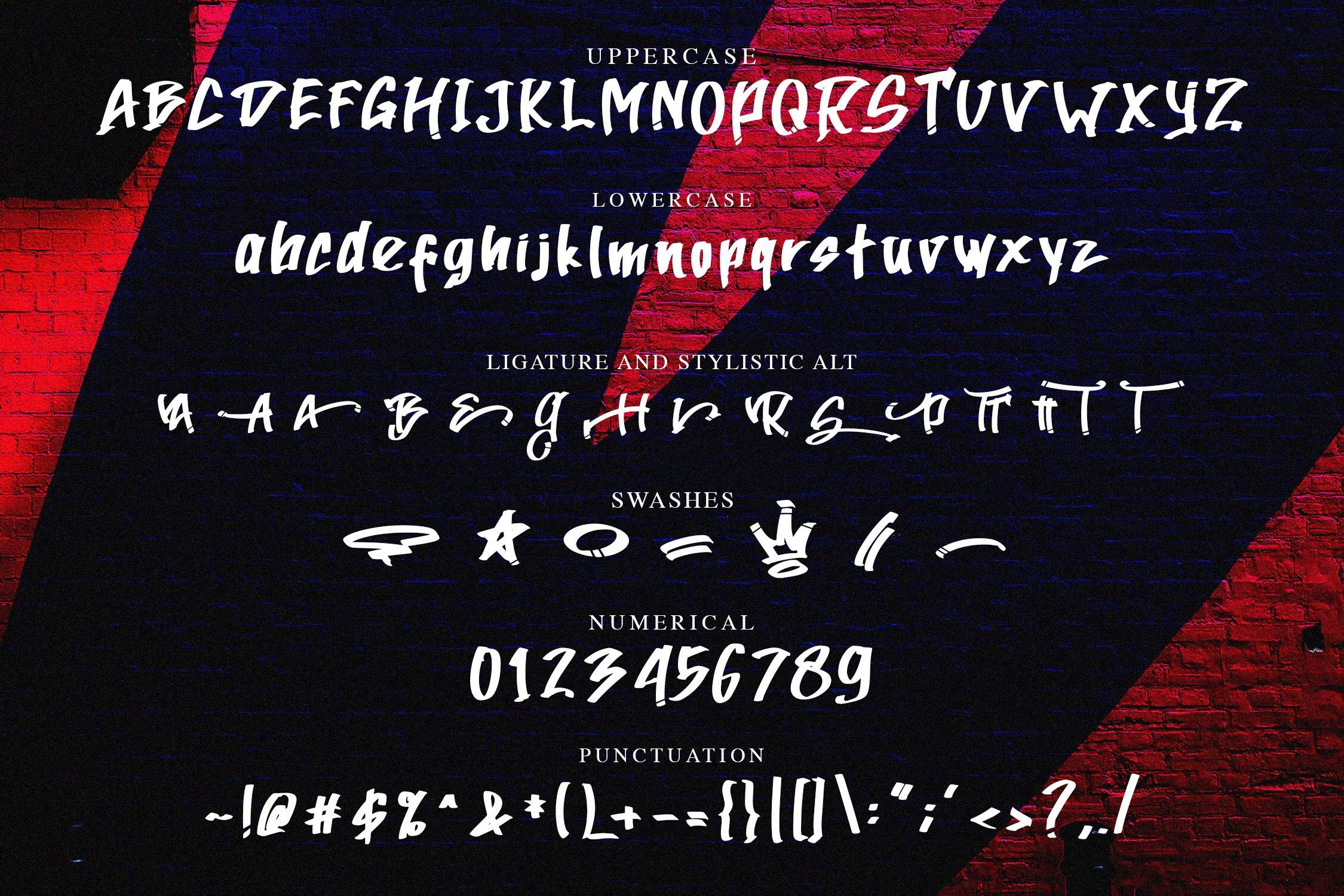 AtteThi Graffiti Font example image 6