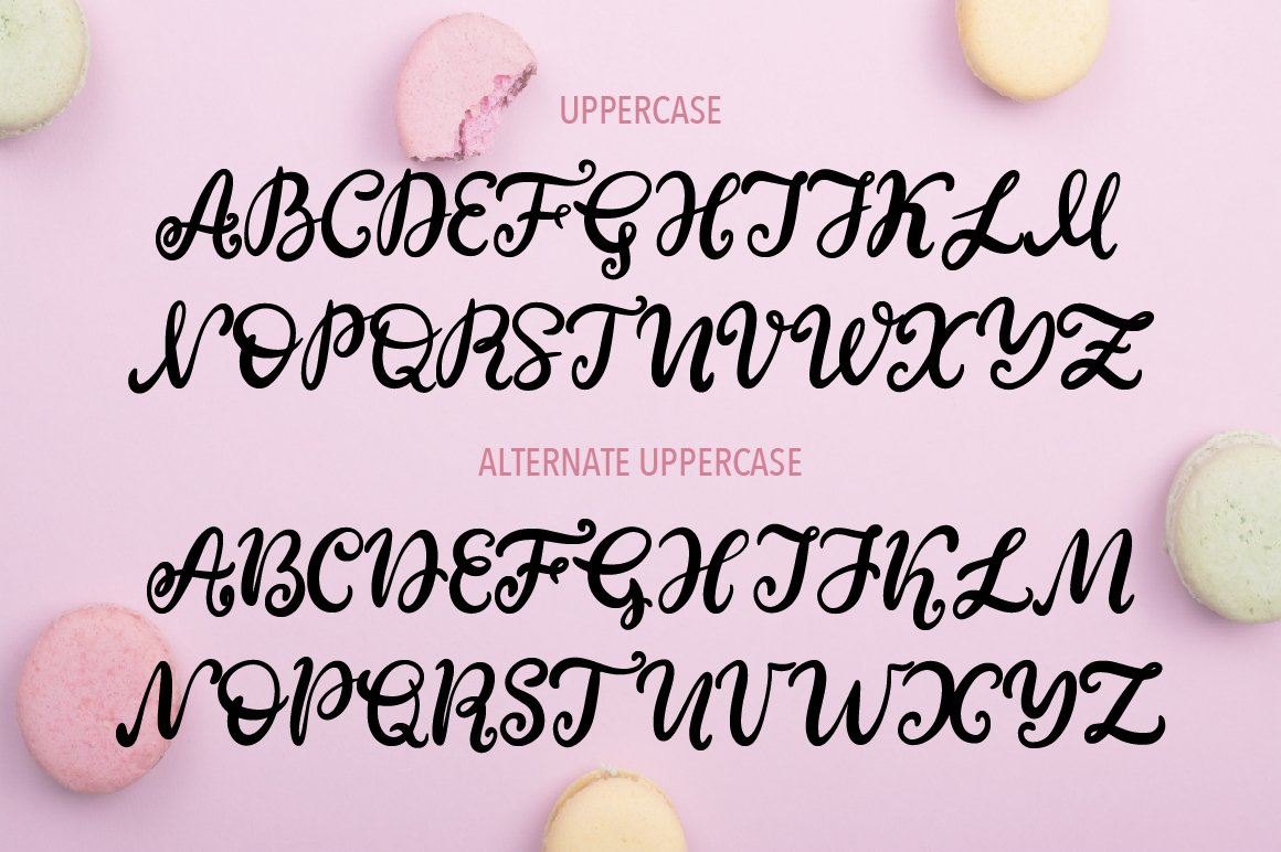 Sweet Tooth. A handwritten script font example image 2