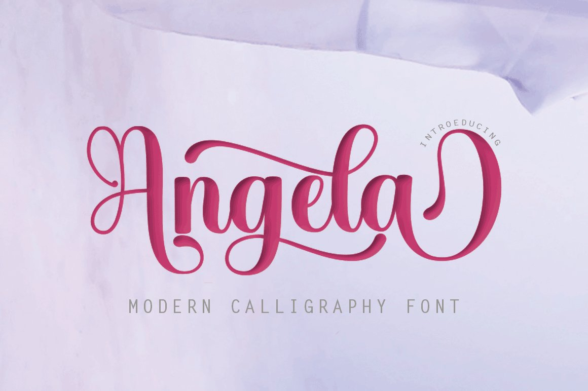 12 graceful charming fonts example image 14