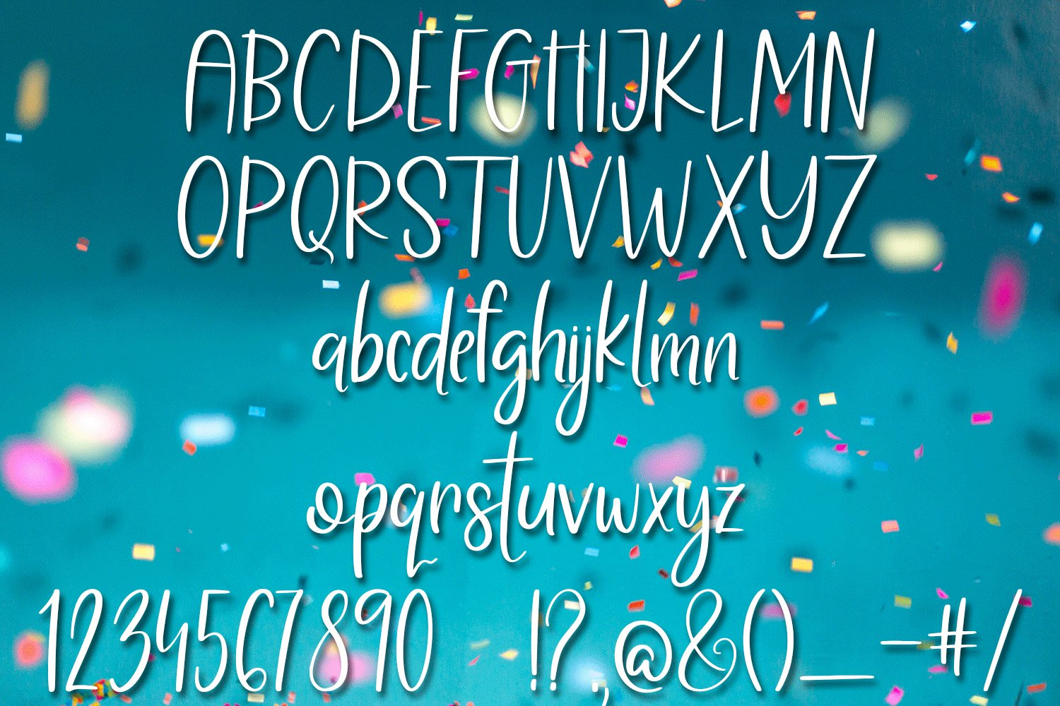 Coconut Butter - A Fun Hand-Written Font example image 2