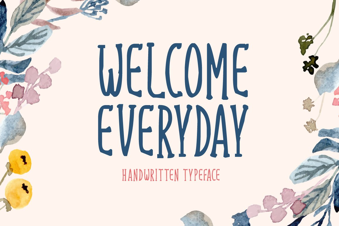 Welcome Everyday example image 1