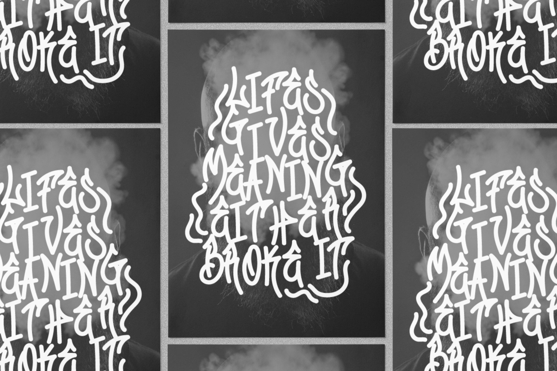 Graffiti Gang Font example image 3
