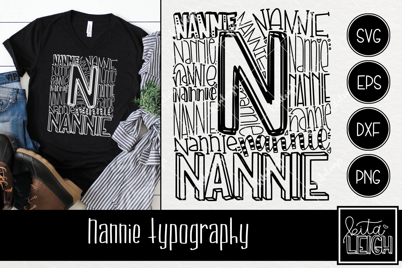 Download Nannie Typography 254656 Hand Lettered Design Bundles