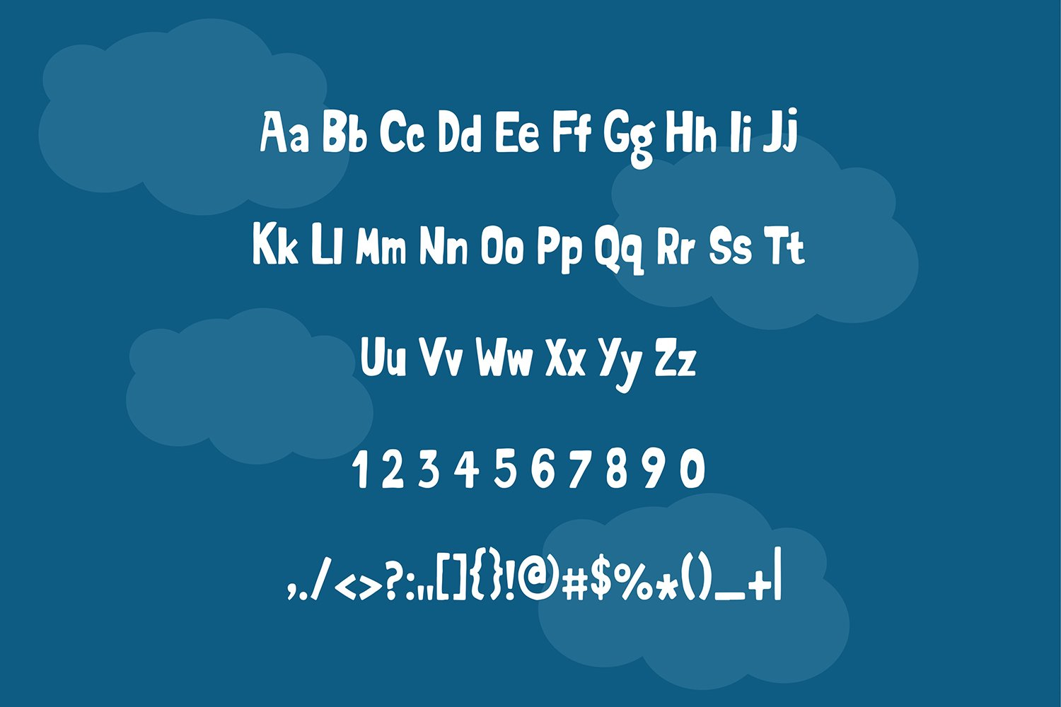 carlie marsento Display font example image 2
