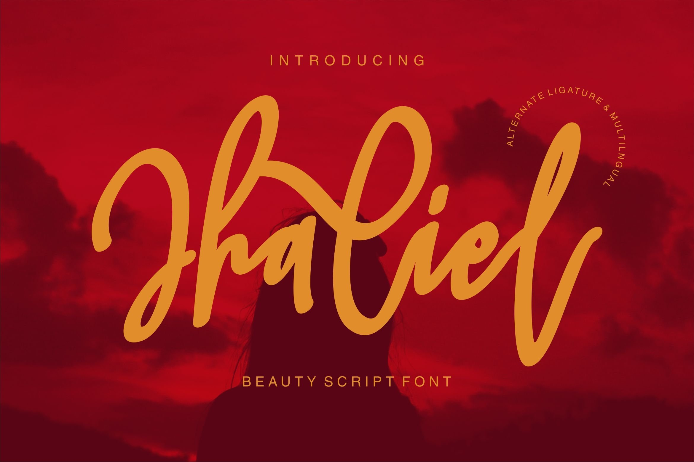 Jhaliel - Beauty Script Font example image 1