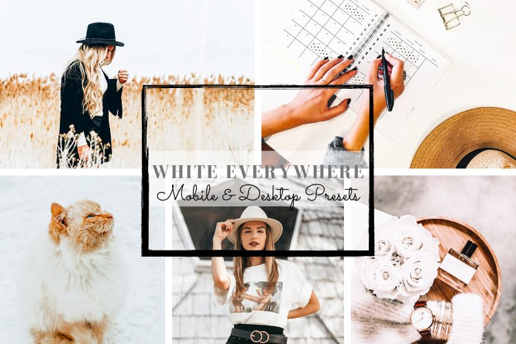 White Everywhere Lifestyle Mobile and Desktop Presets example image 1
