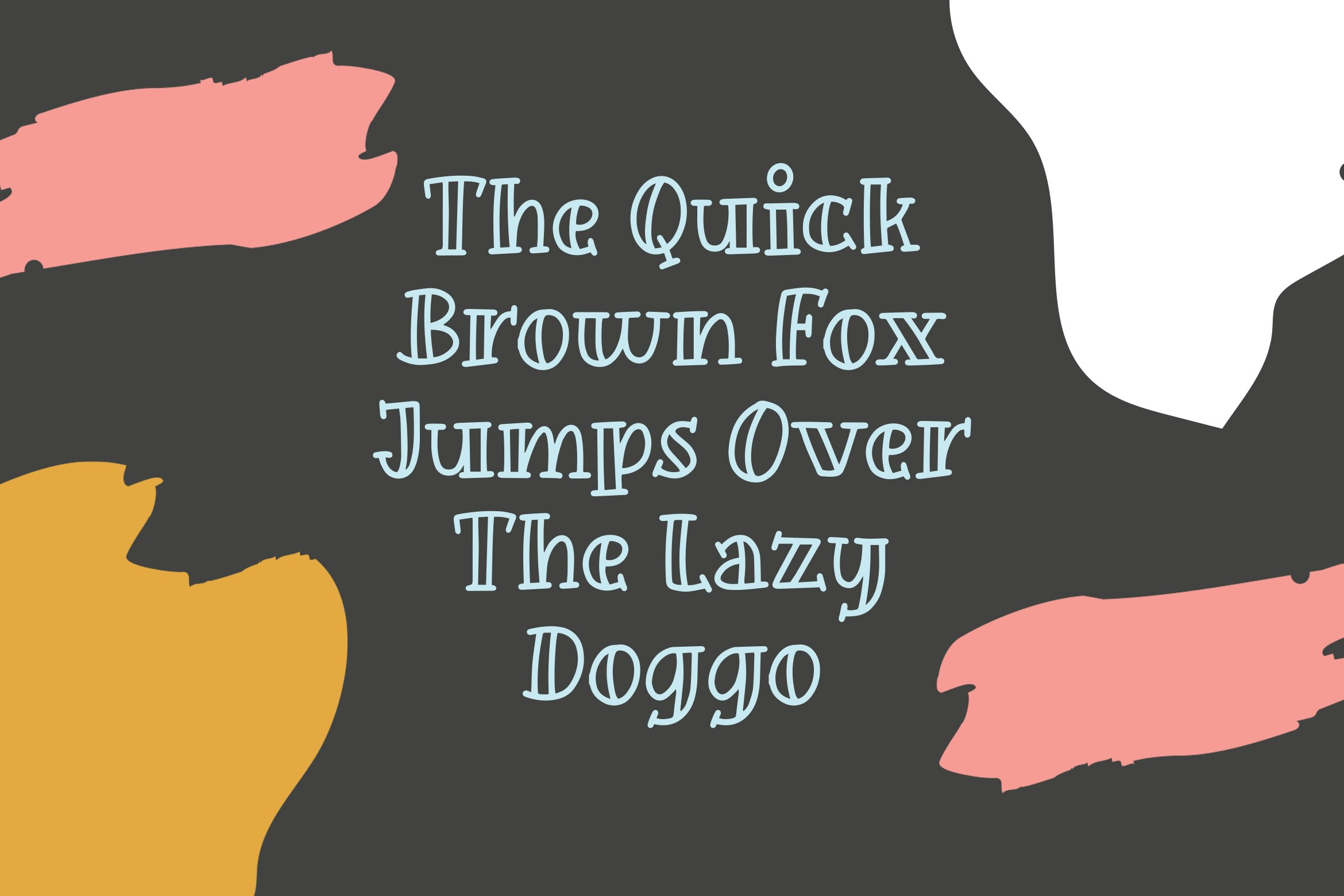 Guffy - Playful Inline Font example image 3