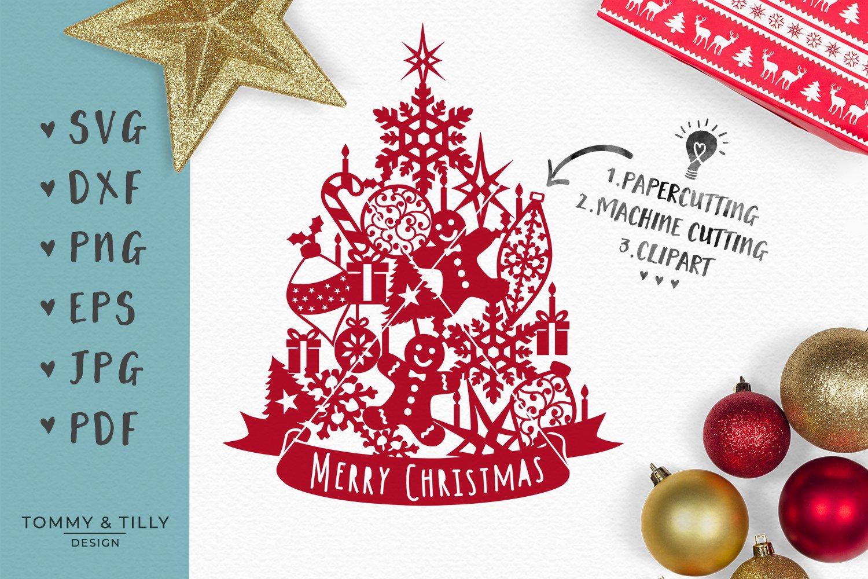 Assorted Christmas Tree Svg Eps Dxf Png Pdf Jpg Cut File 119856 Svgs Design Bundles