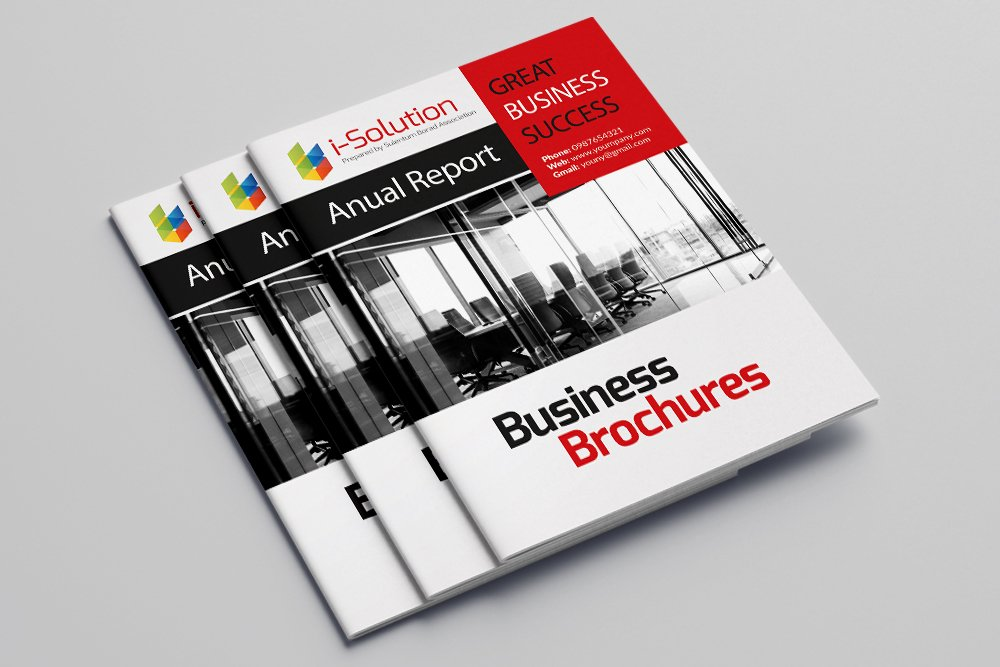Business Catalogue Brochure 16 Pages example image 1