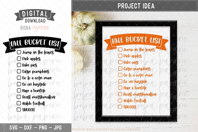 Download Fall Bucket List Svg 944306 Cut Files Design Bundles