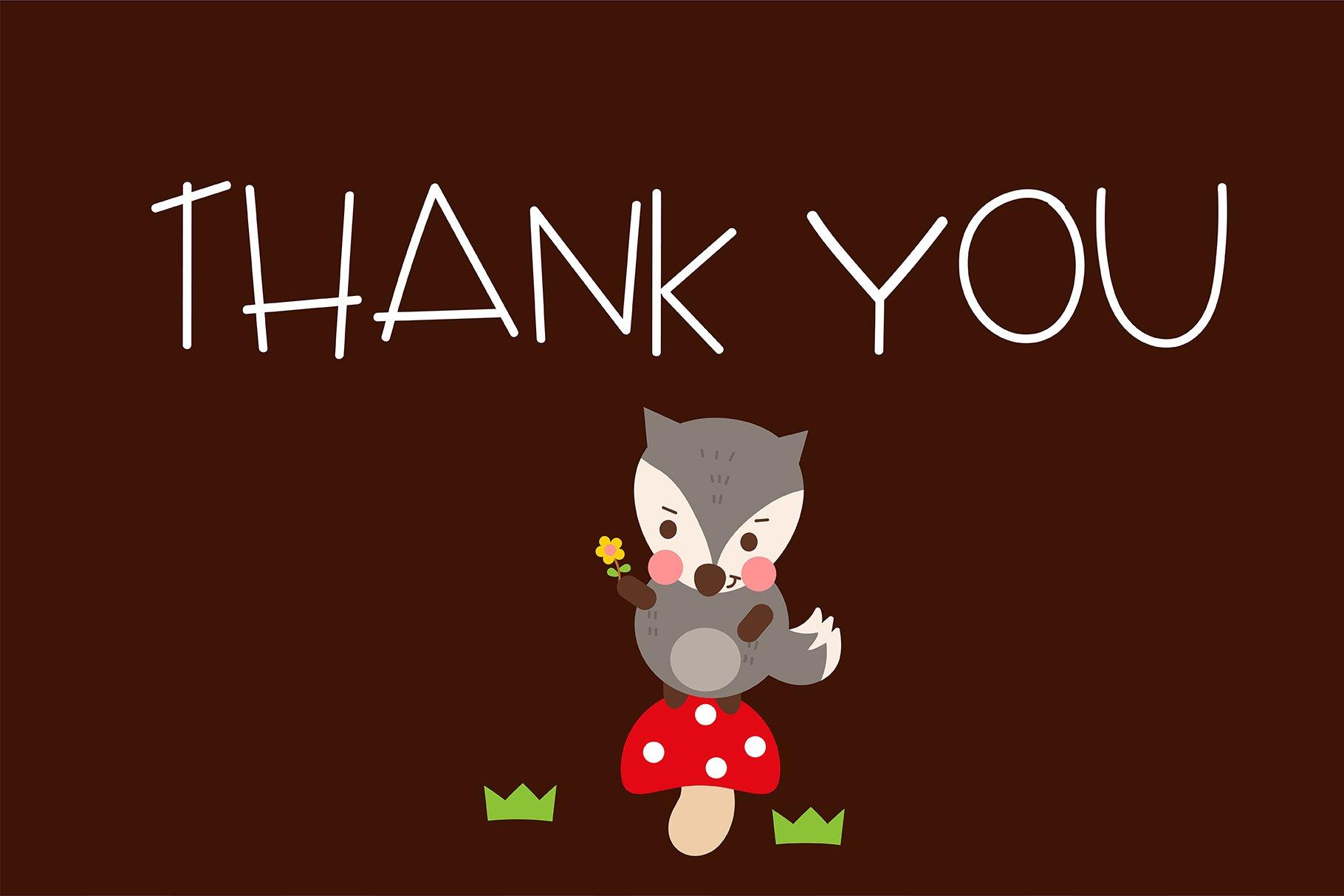Little red riding hood Handwritten- cute kid font Kawaii example image 6