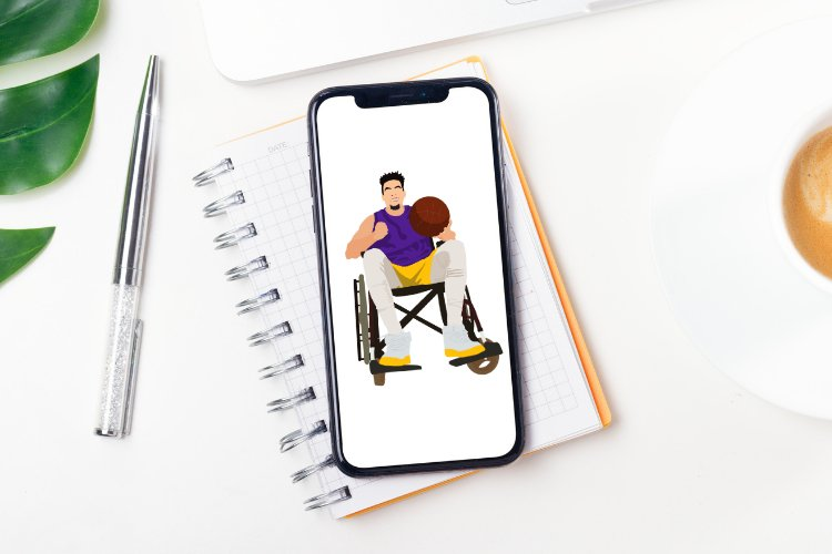 Disabled but Able Vector Illustration example image 3