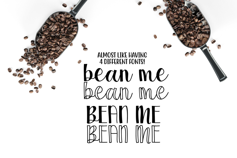 Coffee Grinder - Inline & Solid - Caps & Script example image 5