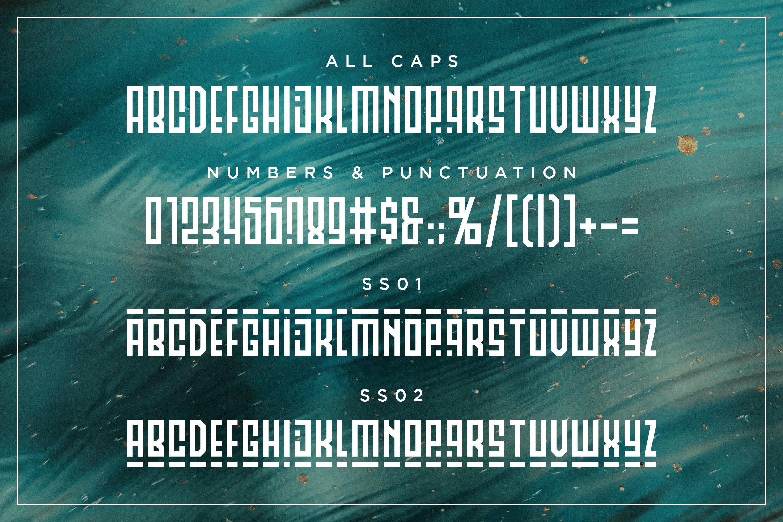 Musashi | Display Ligature Font example image 6
