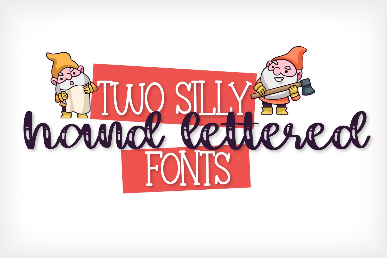 The Garden Gnomes - A Script & Print Duo example image 2