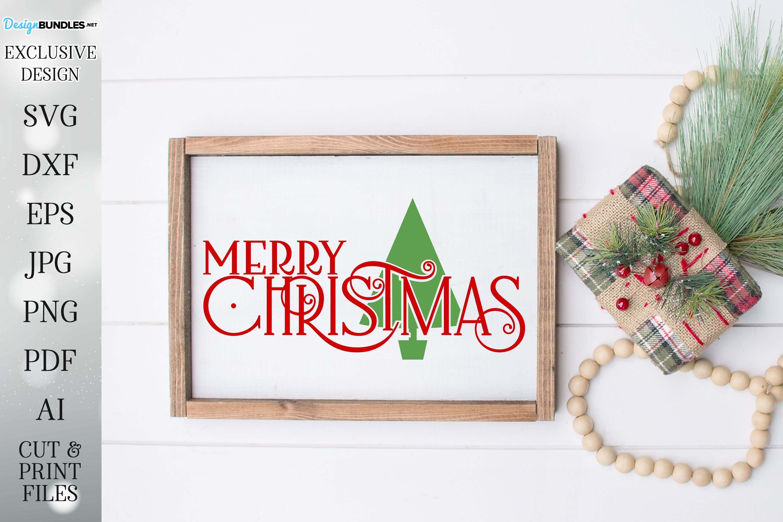 Merry Christmas - Tree - Christmas Design example image 1