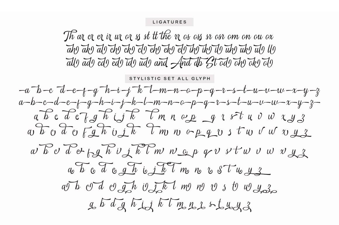 Standbury Script example image 12