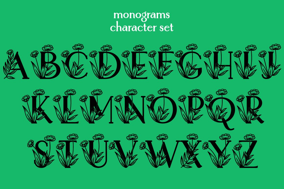 Bahtera | Monogram example image 6