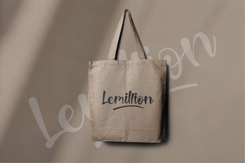 Lemillion Bold Script example image 6
