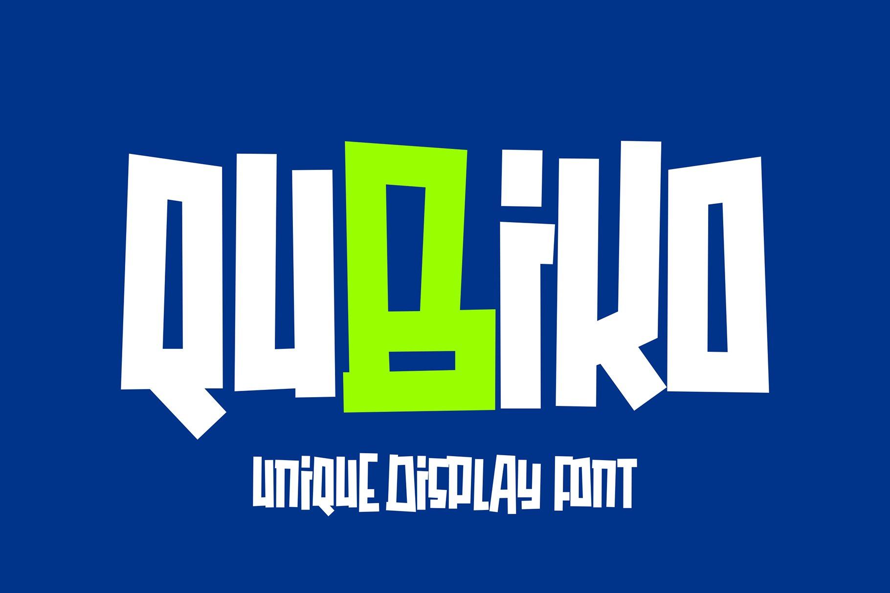 Qubiko example image 1
