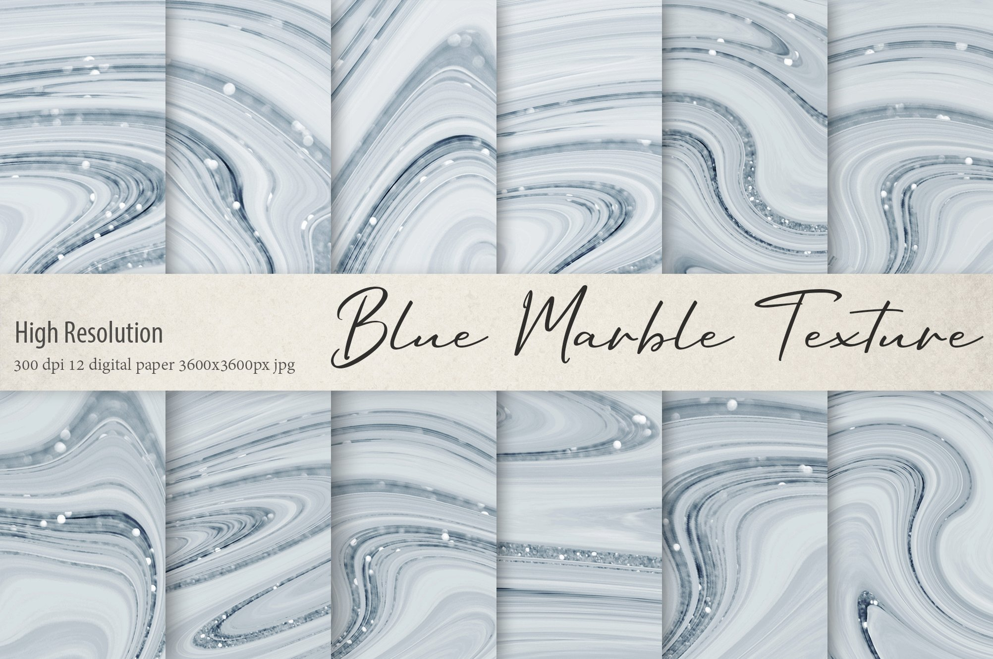 Marble and Glitter Textures example image 1