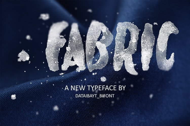 FABRIC FONT example image 1