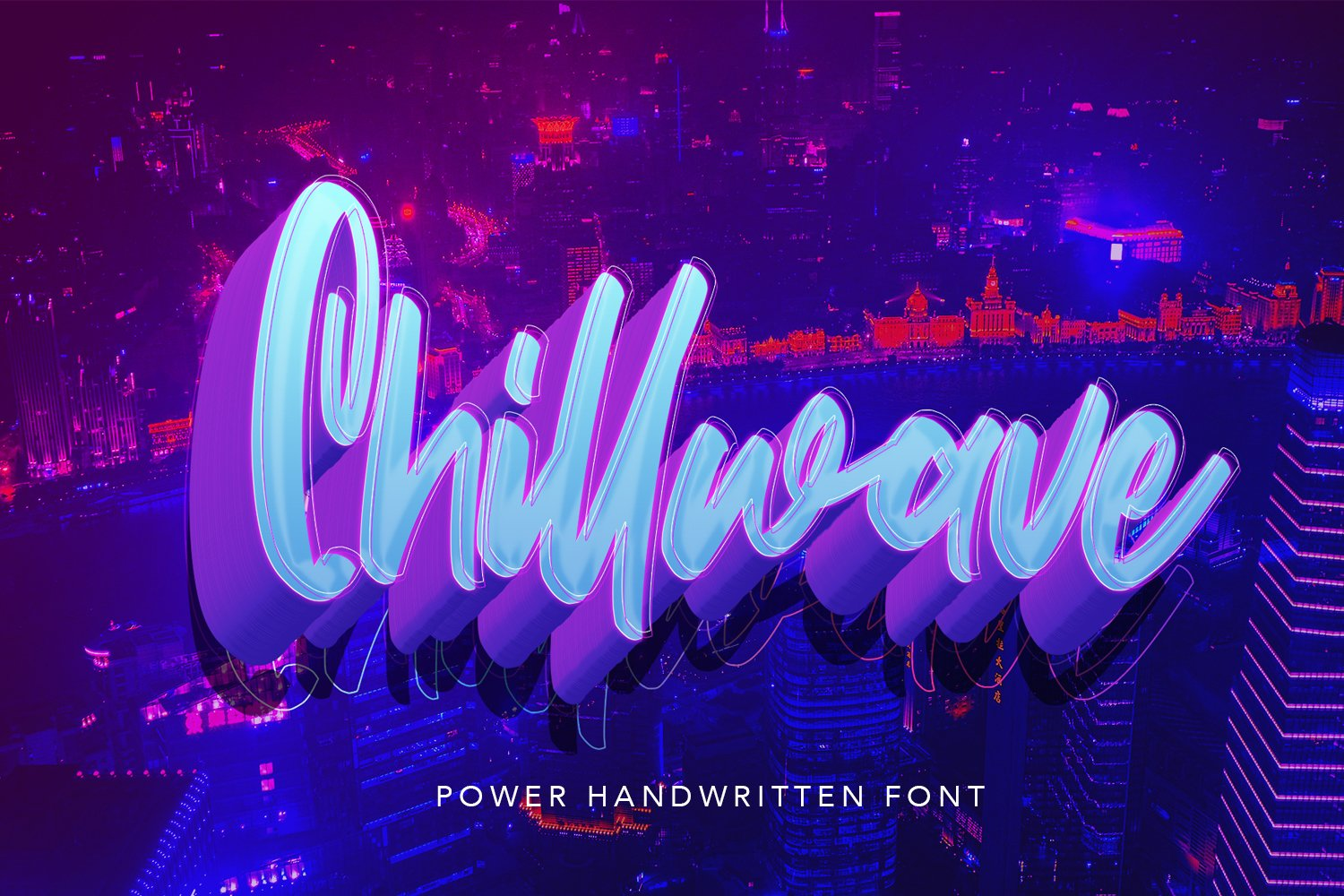 Chillwave - Cool Script Fonts example image 1