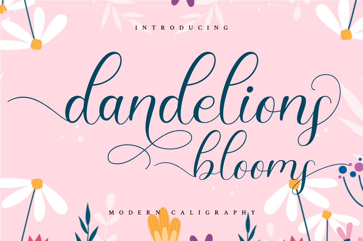 Dandelions Bloom example image 1