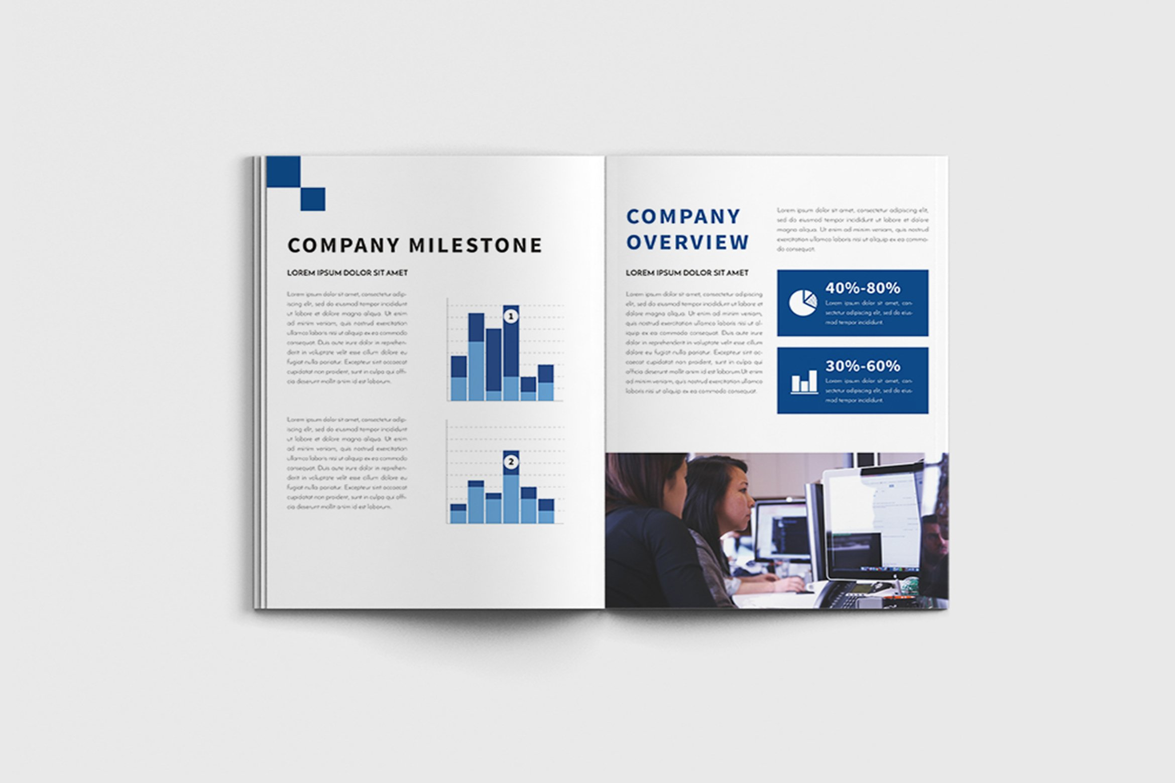 Walkers - A4 Business Brochure Template example image 8
