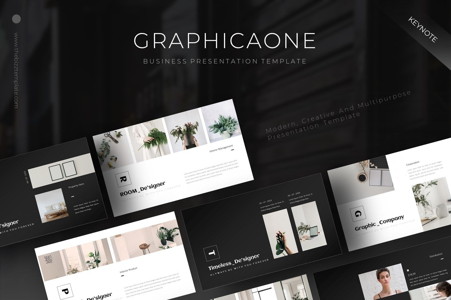 Graphicaone - Keynote Template example image 1