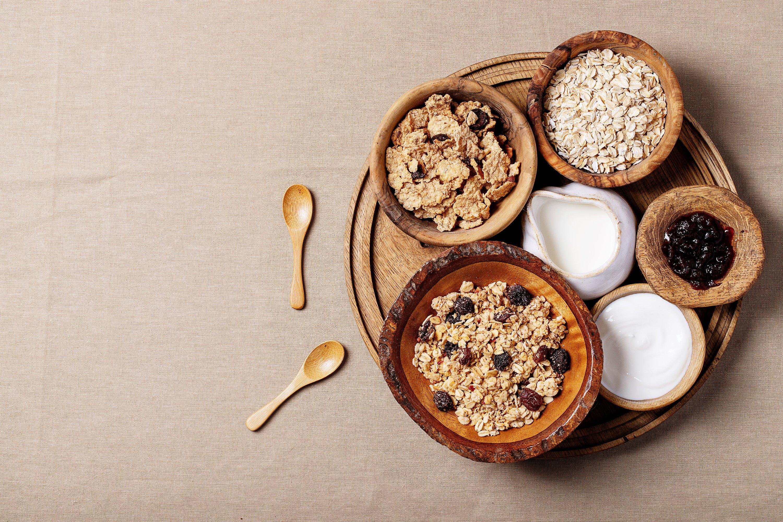 Granola breakfast example image 1