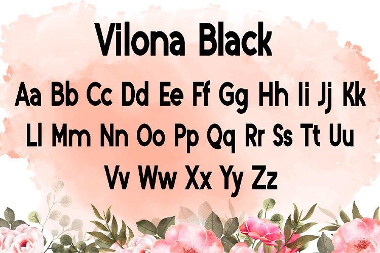 Vilona |Three Typeface example image 12
