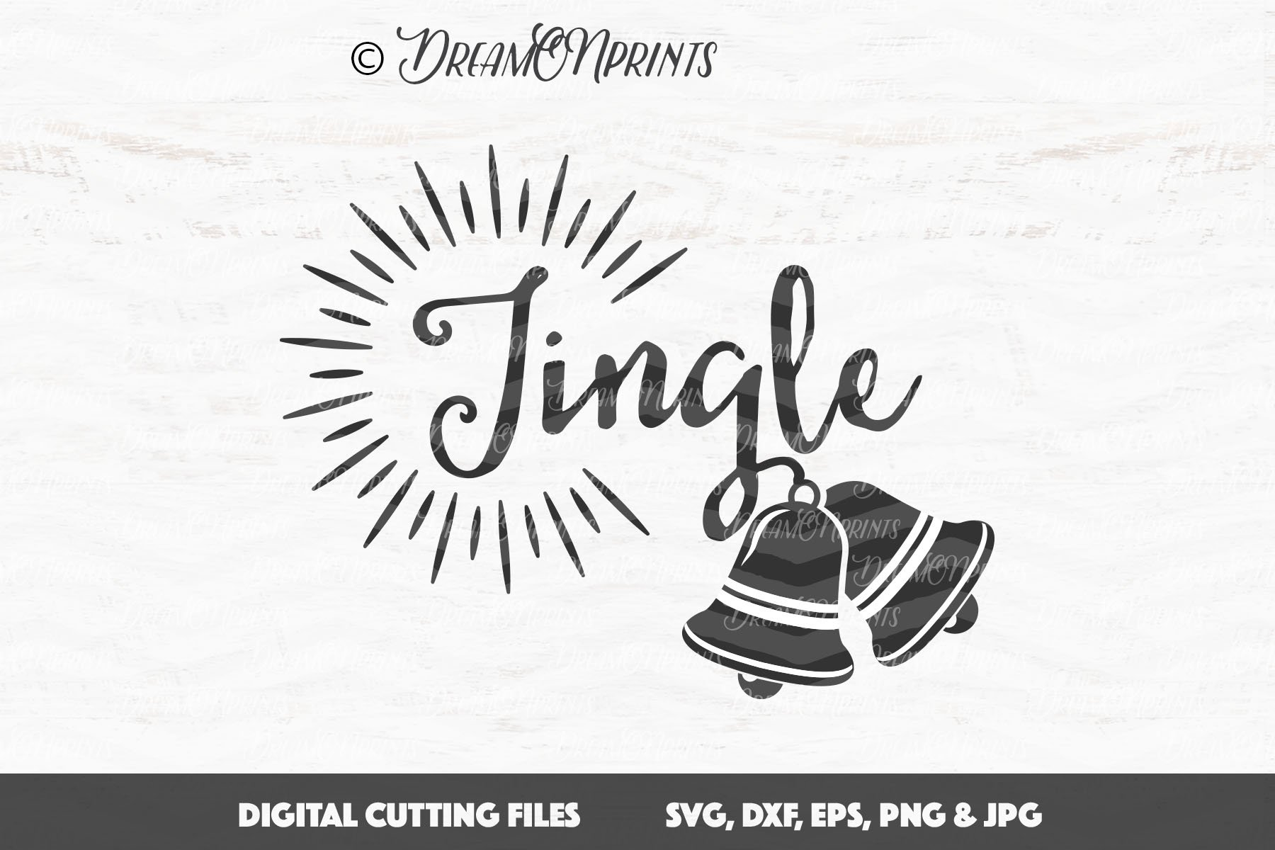 The BIG CHRISTMAS Holidays Bundle - 27 SVG Designs example image 3
