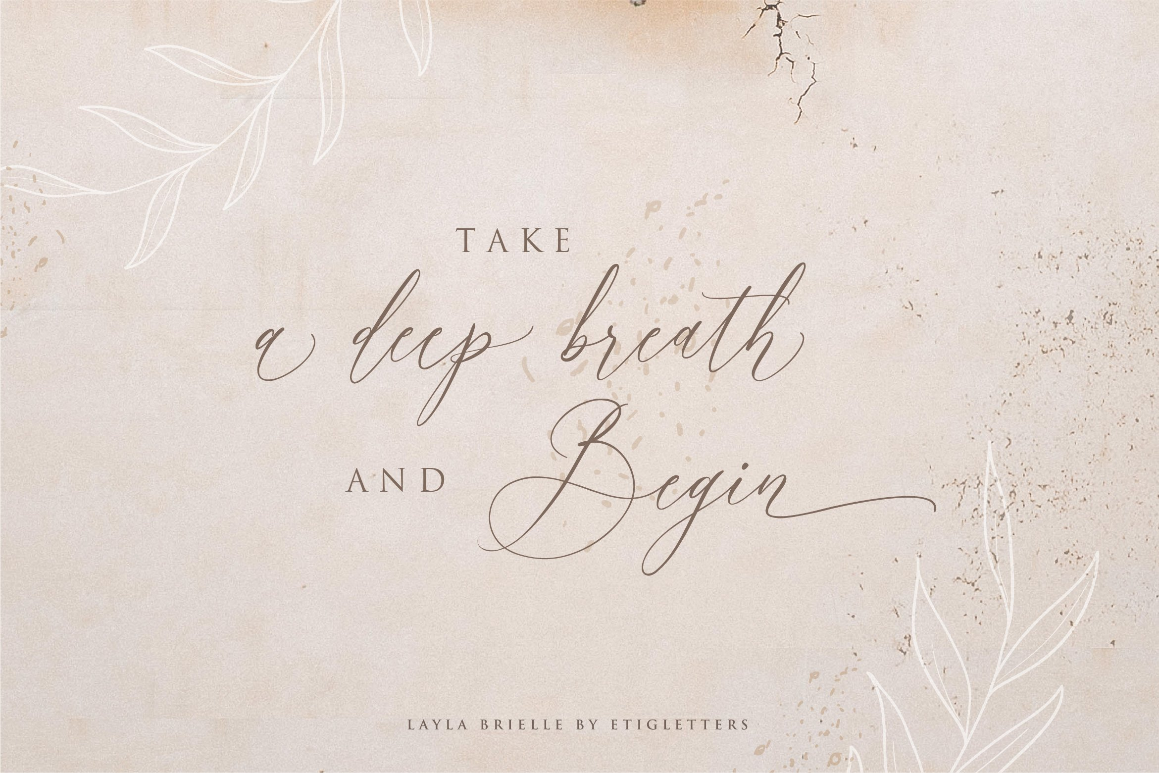 Layla Brielle Calligraphy Font example image 12